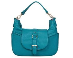 B-Hobo Turquoise camera bag
