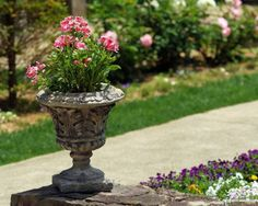 11 most essential container garden design tips designing a outdoor flower planters glowing flower garden planters . Outdoor Flower Planters, Outdoor Flowers, Large Planters, Flowers Garden, Large Flower Pots, Hanging Flower Pots, Japanese Garden Design, Japanese Gardens, Garden Renovation Ideas