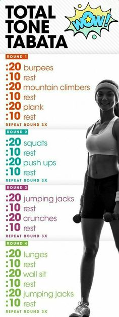 Tabata Workout is part of health-fitness - health-fitness Workout Hiit, Cardio Training, Kettlebell Training, Workout Challenge, Fun Workouts, At Home Workouts, Kettlebell Circuit, Model Workout, Short Workouts