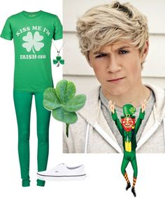 """""""Happy St. Patrick's Day"""" by adriana-noelle ❤ liked on Polyvore"""