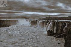 Selfoss water fall, Iceland
