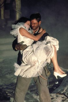 Harrison Ford and Karen Allen in Raiders of the Lost Ark