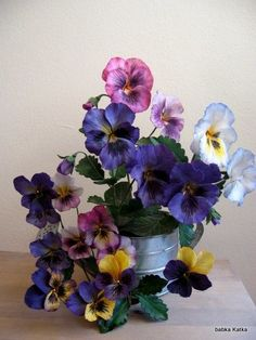 {Oh MY GOSH... I'm in Love with these Pansies by babkaKatka}