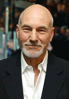 Patrick Stewart - I've had a crush on Patrick Stewart since I was a wee girl watching Star Trek The Next Generation with my big brothers