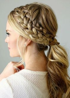 ponytail hairstyles for long hair (24)