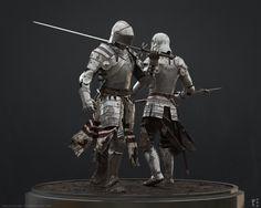 Medieval Knights  Hace apenas unos días, los amigos David Muñoz Velázquez y Francesc Camos  publicaban una nueva colaboración en forma de trabajo personal. La escena  representa una batalla medieval y contiene todos los elementos propios de  semejante épica. En Elephant VFX hemos hablado con el