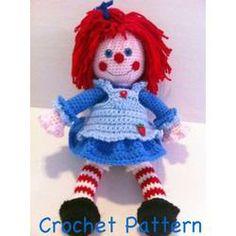 Doll Crochet Pattern Rag...