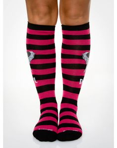 The Walking Dead Rugby I Heart Daryl Knee High Socks