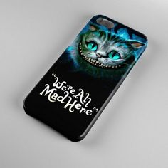 New Alice In Wonderland Cats Smile Case For Apple iPhone 5C