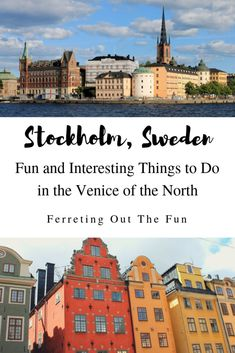 Fun and Interesting Things to Do in Stockholm Travel tips 2019 Fun Things to Do in // Europe Destinations, Europe Travel Guide, Travel Guides, Travelling Europe, Traveling, Amazing Destinations, European Vacation, European Travel, Stockholm Travel