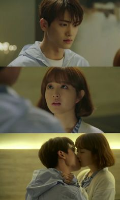 Strong Woman Do Bong Soon Kiss Kdrama, strong woman, park hyung sik, park bo young, ahn min hyuk, do bong soon, kiss, love