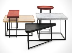 Torei Family Side Tables by Luca Nichetto for Cassina