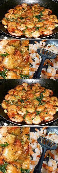 Shrimp Recipes, Fish Recipes, Beef Recipes, Cooking Recipes, Smeg Kitchen, Kitchen Recipes, Tapas, Clean Eating, Easy Meals