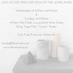 Win A Ticket To Attend LELC Studio Yoga & Wine Launch - Life Retreat | South Africa
