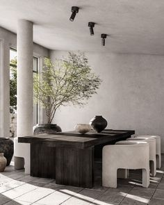 All Details You Need to Know About Home Decoration - Modern Wabi Sabi, Küchen Design, House Design, Design Trends, Modern Design, Interior Design Studio, Dining Room Design, Interior And Exterior, Sweet Home
