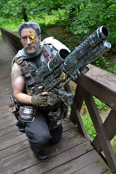 Cable Messiah Complex Marvel Cosplay