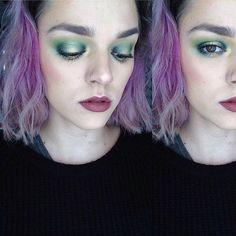Playin around with greens today. #katvondbeautyshadeandlight #macquad #maccosmetics #macstudiosculptfoundation #mufehdfoundation #makeupforever #champagnepop #jaclynhill #greenhalo #motd #eotd #makeup #makeupartist #mua #makeupjunkie #makeupaddict #makeupoftheday #hazeleyes #greeneyeshadow #benefitcosmetics #maccosmetics #benefitrollerlash @maccosmetics @katvondbeauty @jaclynhill @beccacosmetics @benefitcosmetics @undiscovered_muas