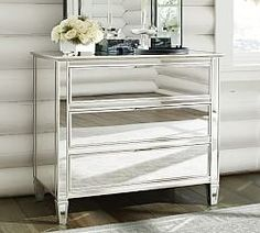 Mirrored Furniture & Park Bedroom Collection | Pottery Barn