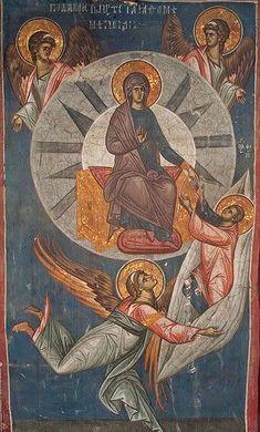 Byzantine Icons, Byzantine Art, Religious Images, Religious Art, Fresco, Russian Icons, Art Icon, Historical Art, Orthodox Icons