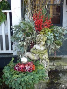 Yesterday was a decent day to be outside and get our front porch ready for the Lake Bluff Christmas tour-{ happening this upcomin. Christmas Music, Christmas Love, A Christmas Story, All Things Christmas, Beautiful Christmas, Christmas Holidays, Christmas Wreaths, Merry Christmas, Christmas Ideas