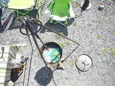 Campfire Tripod (campfire irons)