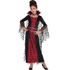 Legends of Evil Dress and Hood H Smiffys Adult Women/'s Dark Temptress Costume