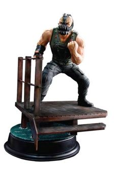 """Dragon Models The Dark Knight Rises: Bane 1:9 Scale Action Hero Vignette by Dragon Models. $61.24. Non-articulated maquette. Figure stands 10 1/2"""" high. Imported from Japan. Detailed sewage plant diorama base. Vignette is in 1:9 scale. From the Manufacturer                Imported from Japan. Gotham City will fall this summer as director Christopher Nolan brings his acclaimed Batman film trilogy to its cataclysmic conclusion in The Dark Knight Rises. The man who will bring Gotham..."""