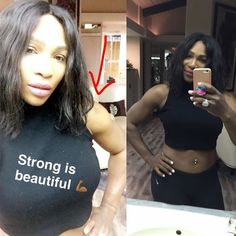 @serenawilliams knows what's up  #strongisbeautiful by healthmagazine
