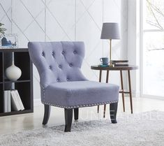 £99.99 Occasional Chair Crushed Velvet or Fabric Tub Accent Chair Office Living Dining