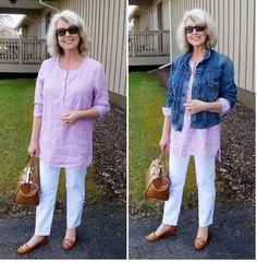 Best Fashion Tips For Women Over 60 - Fashion Trends Over 60 Fashion, Mature Fashion, Over 50 Womens Fashion, Fashion Over 50, Plus Size Fashion, Fashion Fall, Ladies Fashion, Casual Outfits, Fashion Outfits