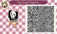 Papyrus QR-Code for Animal Crossing New Leaf