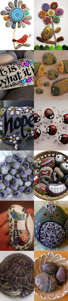 Painted Rocks Ideas and Inspo