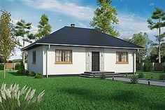 Projekt domu Domek Miodowy (003 ET-M) Shed, Outdoor Structures, House, Home, Backyard Sheds, Haus, Coops, Barns, Houses