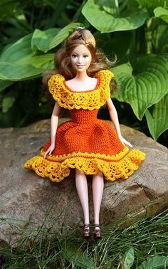 Image result for crochet for barbie dolls