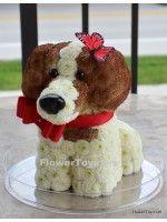 FlowerToy Playful Doggy