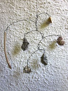 Natural Objects Mobile by CharestStudios on Etsy.