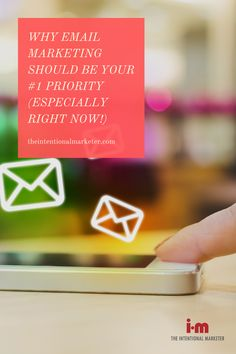 """In normal times, including email marketing in your marketing arsenal is pretty important. But during a crisis, where your marketing budget might be tighter, your other marketing efforts are underperforming, and your customers are wary of being """"marketed"""" to during unsure times, email marketing should be your #1 marketing priority. #Education #BusinessStrategies #EmailMarketing #BusinessCrisis Marketing Tactics, Content Marketing Strategy, Seo Marketing, Online Marketing, Social Media Marketing, Marketing Ideas, Digital Marketing, Marketing Budget, Small Business Marketing"""