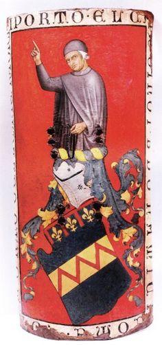 Taddeo di Bartolo - Palvese Buonamici - c. 1408 - tempera su pelle applicata su legno - Museo Stefano Bardini, Firenze