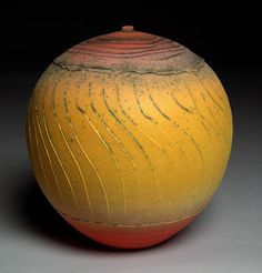 Nicholas Bernard     earthenware with colored slips and matte glazes