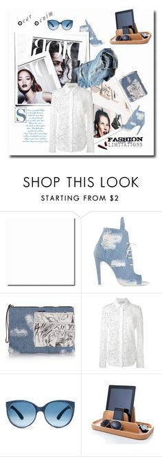 """dear denim"" by emcf3548 ❤ liked on Polyvore featuring Off-White, Joie, McQ by Alexander McQueen, Altuzarra, Giambattista Valli, Nicholas Kirkwood, Mosevic and Royal VKB"