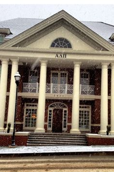 Alpha Delta Pi Sorority House University Of Tennessee