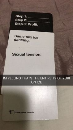 Yuri be like Yuri Plisetsky, Cards Against Humanity Funny, Dark Fantasy, All Out Anime, Yuri On Ice Comic, Thriller, Manhwa, ユーリ!!! On Ice, A Silent Voice