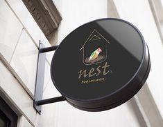 Nest Logo, New Work, I Shop, Behance, Branding, Profile, Marketing, Logos, Gallery