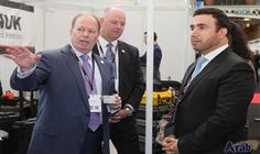 ISNR delegation visits London Security and Counter Terror Expo
