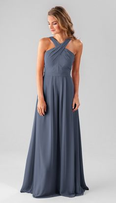 c9e1d5aebd8 High-neck bridesmaid dress