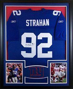 Michael Strahan Framed Jersey Signed JSA COA Autographed New York Giants Mister Mancave http://www.amazon.com/dp/B00N2CSV72/ref=cm_sw_r_pi_dp_RuKswb12XTV6K