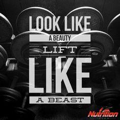 Look like a beauty! Lift like a beast! #MondayMotivation http://fb.me/22aGnnpPm