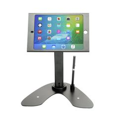 CTA Digital PAD-Askmb Dual Security Kiosk Stand with Locking Case and Cable for iPad mini 1st?4th Generation