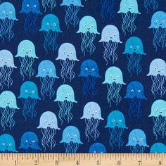 Bleu royal fq fat quarter zèbre motifs 100/% coton quilting
