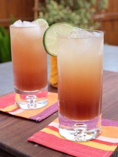 Rum Rickie recipe from Geoffrey Zakarian via Food Network
